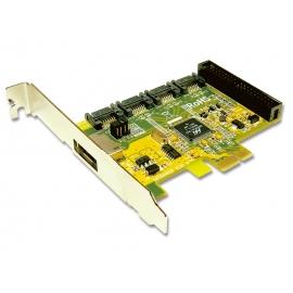 PCI Express 4 SATA & 1 PATA ports