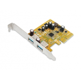 USB 3.1 Enhanced SuperSpeed Dual ports PCI Express Host Card with Type-A Receptacle