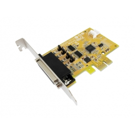 2-port RS-232 with Power Output & 1-port Parallel PCI Express Multi-I/O Board