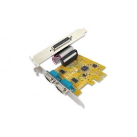 2-port RS-232 & 1-port Parallel High Speed PCI Express Multi-I/O Board