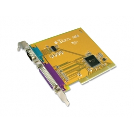 1-port High Speed RS-232 1-port Parallel Universal PCI Multi-I/O Board