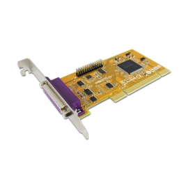 2-port IEEE1284 Parallel PCI Board