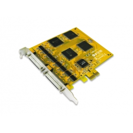 16-port RS-232 High Speed PCI Express Serial Board