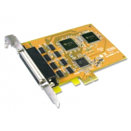 8-port RS-232 High Speed PCI Express Serial Board