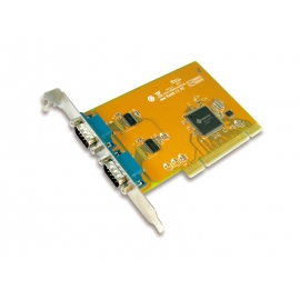 2-port RS-232 High Speed Universal PCI Serial Board