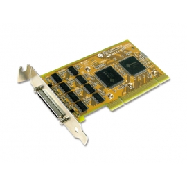 8-port RS-232 Universal PCI Low Profile Serial Board