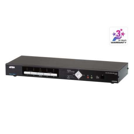 4-Port USB HDMI Multi-View KVMP™ Switch