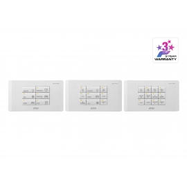 ATEN Control System - 12-button Meeting Room Control Pad (EU, 2 Gang)