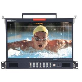 "17.3"" 3G-SDI FULL HD LCD Monitor - 1U Foldable Rackmount Tray Unit"