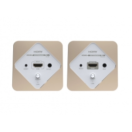 HDMI over IP Extender Wall Plate 120m with IR pass-back