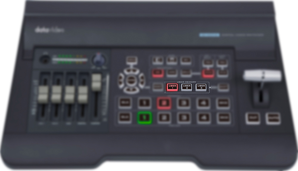 SE500HD datavideo user memories