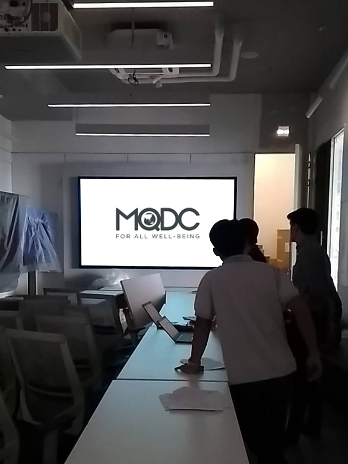 dnp Infinity 130inch at MQDC