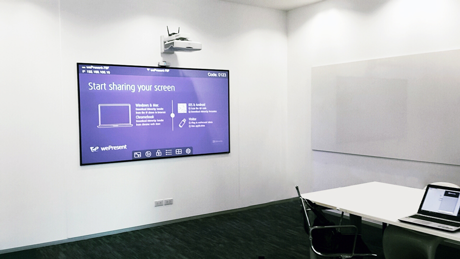 dnp LaserPanel Touch at people space