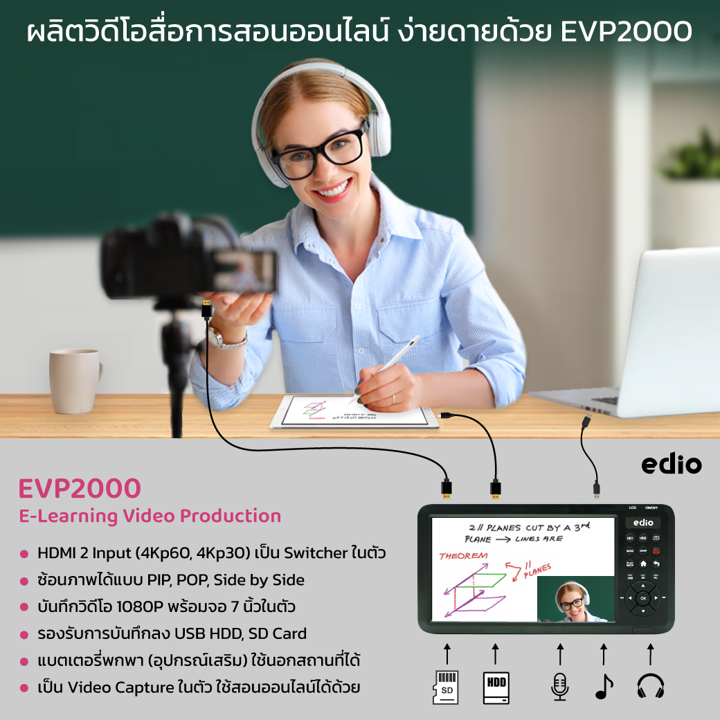 EVR2000 HDD Recorder