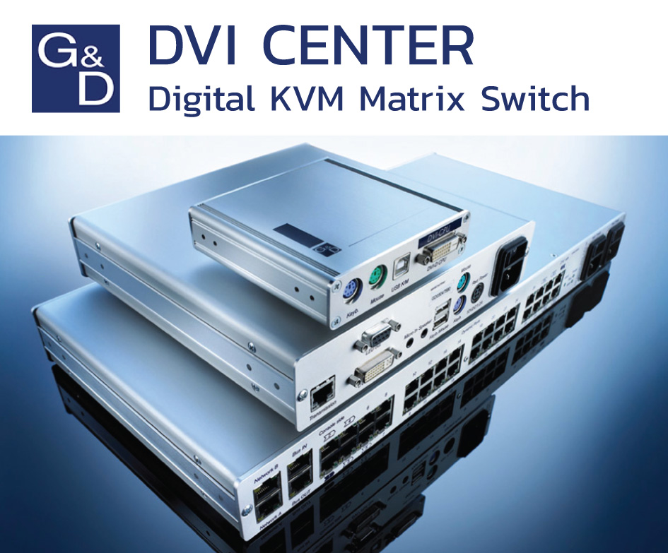Digital Matrix KVM Switch