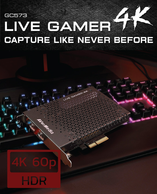 4k 60p capture card