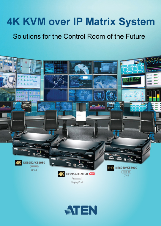 KVM Over IP Matrix system for control room